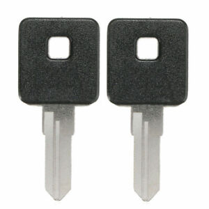 2pcs Motorcycle Ignition Key Blank Fit For 1970-2015 Sportster 1200 883