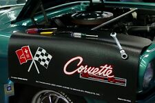 Chevy Stingray Black Corvette C2 car mechanics fender cover paint protector