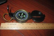 VINTAGE ENGINEER'S LENSATIC COMPASS MADE IN TAIWAN EXCELLENT LOOK!