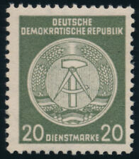 DDR-Dienst, MiNr. A 22 xI XII, tadellos postfrisch, Befund Ruscher, Mi. 320,-