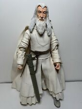 """Lord of the Rings LOTR Gandalf The White 11"""" Action Figure 2005 The Hobbit"""