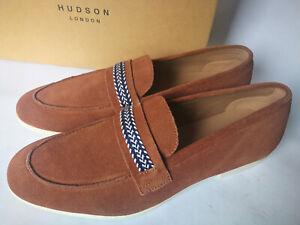 "RRP £130!! Hudson ""Cindeford"" Suede Loafer Mens Shoes, UK 11/EU 45,Office,Casual"