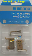 Xtr - Couple Original Pads Shimano M06 Metal+Spring : M975,966.965,775-NEW