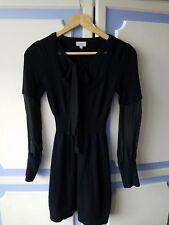 Lovely Karen Millen Knitted Short 100% Wool Dress, size 1 or UK6-8 - VGC
