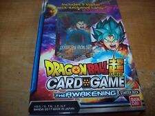 DRAGON BALL SUPER TCG THE AWAKENING STARTER DECK SET - ENGLISH FACTORY SEALED