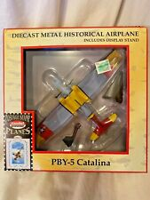 Postage Stamp Planes by Model Power CATALINA PBY-5 Airplane Die-Cast 1/100