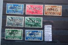 FRANCOBOLLI OCCUPAZIONE AMGV-NUOVI N°2/8 MH* LINGUELLATI*  (F100952)