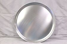 """New listing (1) 16"""" Pizza Serving Tray - Pan - Aluminum - Wide Rim Tray Server Cutting"""
