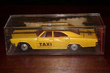 Sabra, Cragstan Die Cast Metal, 1965 Chevrolet Impala Taxi, Original Box.