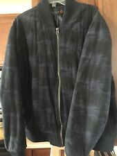 "G By Guess Mens Camo ""Navy�?Bomber Jacket XXL"