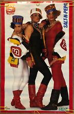Original Vintage Poster Salt-n-Pepper 1980s music memorabilia rap hip hop group