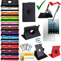 Rotating iPad Case 2018 2017 Air 5th A1823 A1822 A1893 A1954 A1474  Cover 9.7