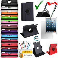 Rotating iPad 2 2nd 2G iPad 3 3rd iPad 4  RETINA SMART Leather Case Stand Cover