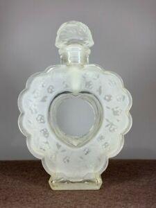 Vintage Nina Ricci Coeur Joie/Lalique Perfume Bottle