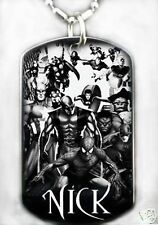 MARVEL - Dog tag Necklace/Key chain + FREE ENGAVING