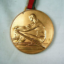 sport medal plaque Rowing Canoe Championship 1990 Bulgarian Rowing Federation