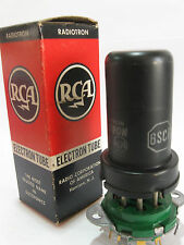 One 1959 RCA 6SC7 tube - New Old Stock / New In Box