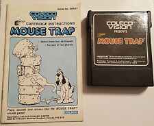 Mouse trap whit instruction coleco 1982