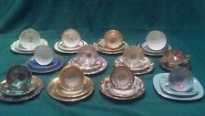 Vintage Bavaria Germany Antique China 3 Piece place settings..Cup, Saucer, Plate