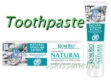 ROSE RIO NATURAL Toothpaste with Spirulina & Sea Minerals 65ml.