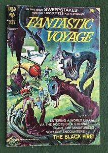 Fantastic Voyage #2 Gold Key Silver Age sci-fi adventure g/vg