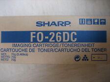 SHARP Cartouche d'encre original FO-26DC pour Fax 2600 2700 F0-26 DC FO26DC