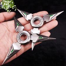 Shuriken Toy Metal Hand Spinner Genji Ow Ninja Toys Tri Edc Fidget Spinners Kids