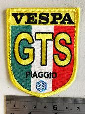 Vespa GTS Ital Aufnäher - Bestickt - Eisen oder Aufnäher