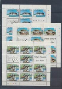 XC89342 Kiribati 1980 London stamp expo sheets XXL MNH