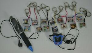 HIT CLIPS Lot - 14 songs - 2 players w/ Pen - VTG Tiger Electronics NSYNC Spears