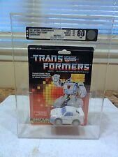1987 Transformers AFA Series 4 Throttlebot Searchlight Sealed MISB MIB BOX