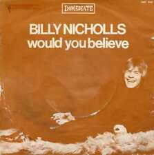 "BILLY NICHOLLS ""WOULD YOU BELIEVE"" ORIG FR 1968 POP/MOD SMALL FACES"