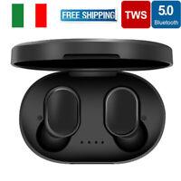 A6S Airdots TWS Auricolari Bluetooth Stereo Bluetooth 5.0 Auricolari Eeadphone *