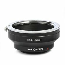 K&F Concept Adapter for Canon EF EF-S Mount Lens to Nikon 1 V1 V2 J1 J2 J3 S1