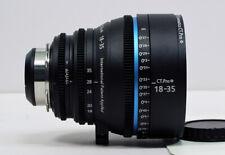 Cinematics Cine lens sigma 18-35mm T2 f/1.8  PL for red epic sony  fs7 f5 ursa