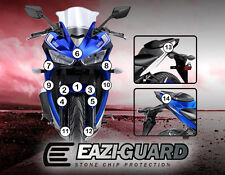 Eazi-Guard™ Yamaha YZF-R25/R3 2015-2017 Motorbike Stone Chip Protection Kit