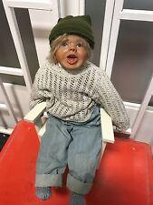 Sigikid Kristin Schramm Puppe 54 cm ! Top Zustand