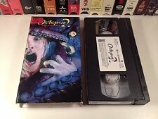 Octopus 2: River Of Fear Horror VHS 2001 Michael Reilly Burke Chris Williams