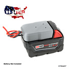 **Milwaukee M18 Battery Adapter Dock with Soft Wires Power Wheels DIY Robotics**