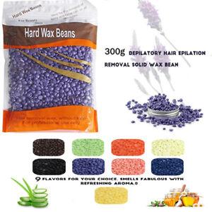 Depilatory Hard Wax Beans 300g waxing Hot Brazilian Waxing Hair Pellet Beads Bod