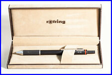 ROTRING TRIO 0.35, 0.5 + 0.7 mm lead pencil / black metal / GERMANY