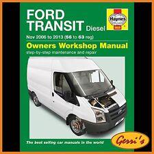 5629 Haynes Ford Transit Diesel (Nov 2006 to 2013) Workshop Manual