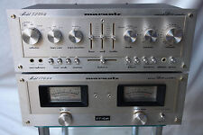 MARANTZ 170 DC AMPLIFICATORE AMPLIFICATORE POWER STEREO AMPLIFIER + 3250 B Preamplificatore