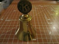 "Kiwanis International Brass Bell, Vintage 3"" Tall, 2"" Wide"