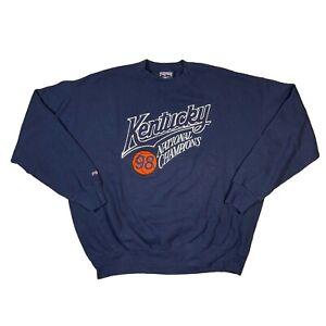 Vintage Kentucky National Champions 1998 Jansport Embroidered Sweatshirt