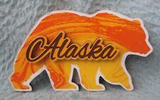 Walking Bear Alaska Dimensional Magnet Souvenir Travel Refrigerator