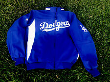 LA Dodgers Majestic Size XL Royal On-Field Therma Base Full-zip Jacket Dugout