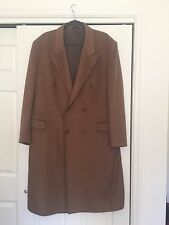 Luxurious Giorgio Balestro 100% Cashmere Vicuna Coat  EU 52 US 42  Made In Italy