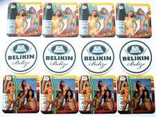 Lot 12 Asst NEW Belize Belikin Beer Coasters Mats Calendar Girls 2005 Collectors