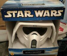 Star Wars ROTJ SCOUT BIKE TROOPER Helmet 1:1 Prop Replica New in Box